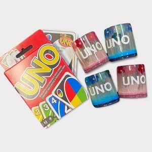 🆕 Drunken Uno Game + Shot Glasses